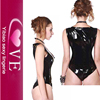 Female Body Suits Teddy In 3XL Lingerie Sleeveless Sexy PVC Wear