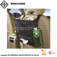 Car Trash Bag Leakproof Litter Vehicle Organizer Auto Garbage Can Tissue Dispenser