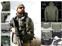 Men's Outdoor Jacket Sharkskin Softshell Jacket Military Army Outdoor Sports Clothing