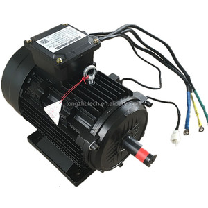 220V 1.1A 3000rpm 0.3nm AC 100kw motor Brushless Permanent Magnet Electric Motor 100 kw For 5 6 Axis Robot Arm High-end CNC NC