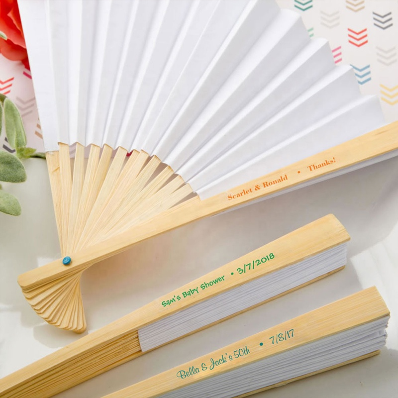 [I AM YOUR FANS]9inchL <strong>Wedding</strong> Party favor colorful Paper Fan Paper <strong>Wedding</strong> Hand Fan printed Bride&Bridegoom name and <strong>wedding</strong> d