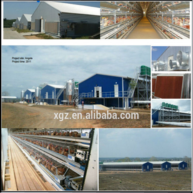 Hot-sale Chicken House For Automatic Chicken Layer Egg Cage In Poultry Farm