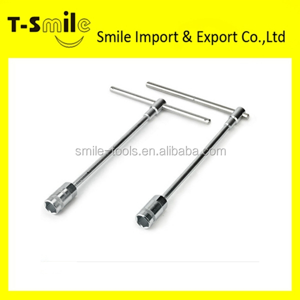 Professional hand tool wrench set t spanner type of socket wrench