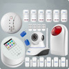 KERUI new Wifi based support IOS Android phone control gsm pstn dual network burglar alarm system