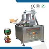 China made teflon glue conatainer cheese wafer box gluing machine