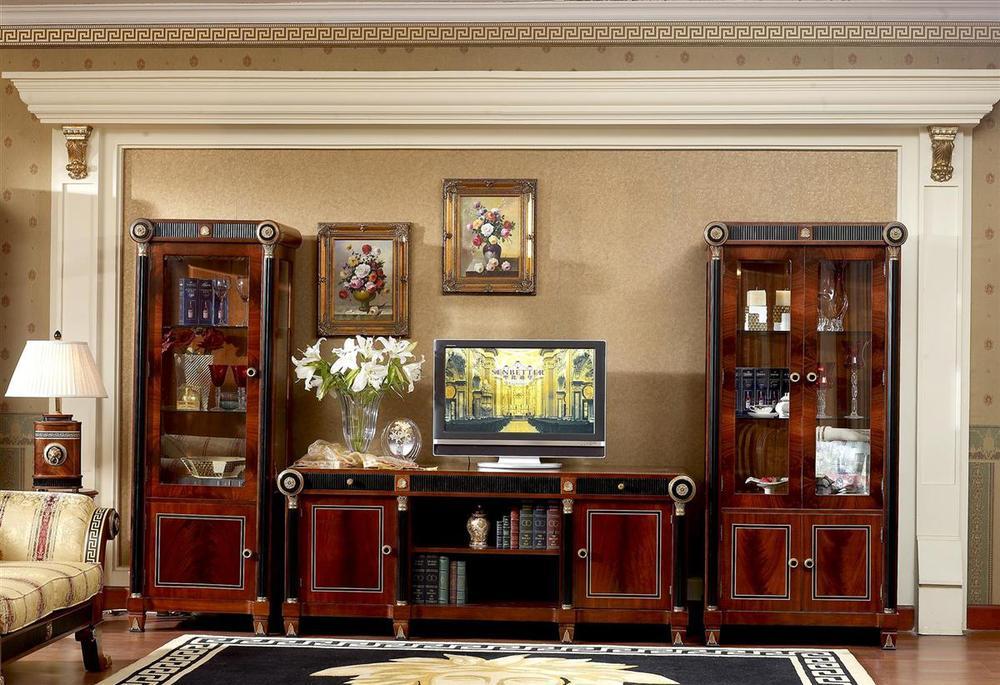 0010 European Classic Furniture Wooden Cabinet Design For ...