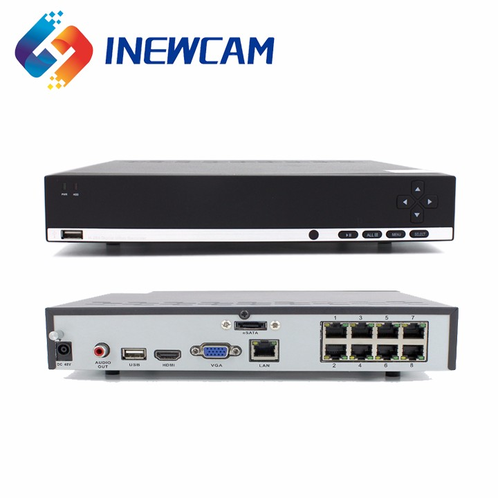 Best Selling 4mp 16ch Motion Detection Cctv Poe Nvr For Ip Camera