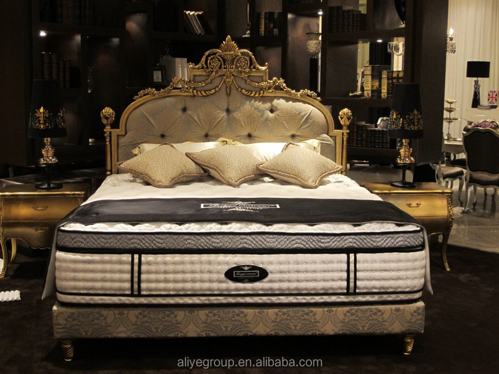 F6017- Princess King Size Bedroom And Queen Size Metal Bed Frame ...