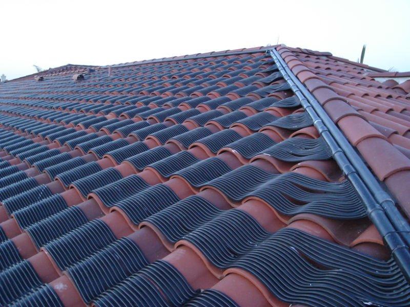 Flexible calentador solar de la piscina colectores solares for Calentador piscina solar