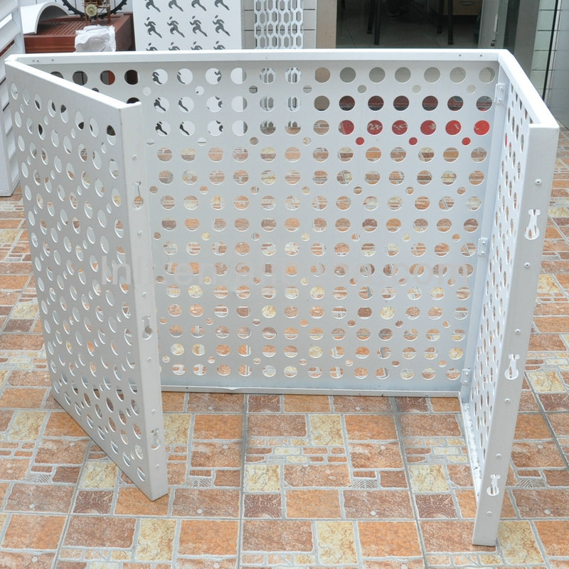 Decorative Air Conditioner Cover Aluminum Metal Protector