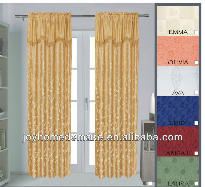 Amazing Curtains With Attached Valance, Curtains With Attached Valance Suppliers  And Manufacturers At Alibaba.com