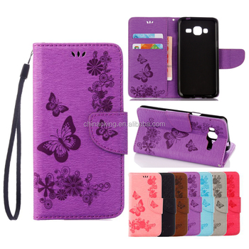 huge selection of 7980e 35655 Pu Leather Case For Samsung Galaxy J3 2016 Case For Fundas Samsung Galaxy  J3 Case Cover Butterfly Flip Wallet Phone Bag - Buy For Samsung J3 Case,For  ...