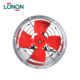 Round Metal 12 16 20 24 28 inch 220v 380v Ac Ventilation Blower Axial Flow Industrial Exhaust Fan