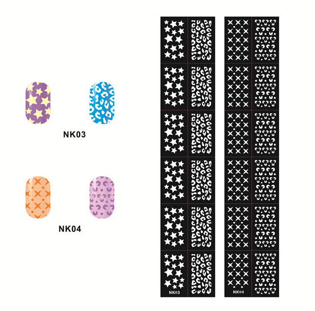 12 Tips Sheet Nail Vinyls Easy Use Art Manicure
