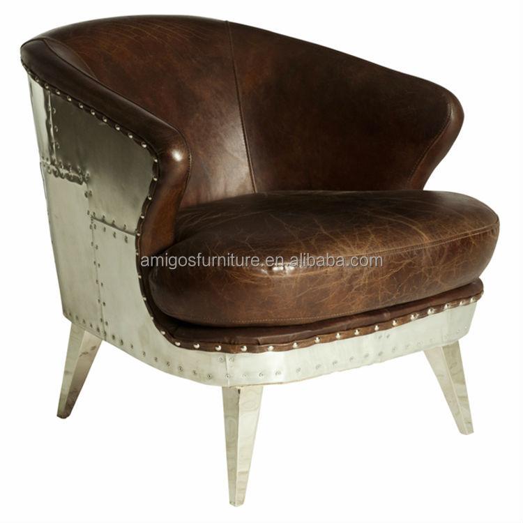 Waxy Leather Aviator Chair  1 ...