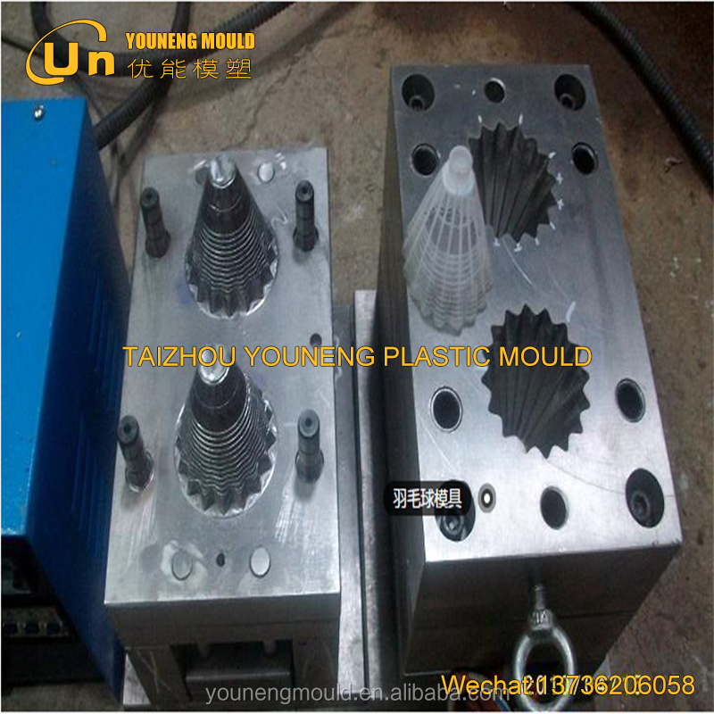 Nylon plastic injectie shuttle kurk mould