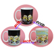 11oz Wholesale Heat Sensitive Color Changing Magic Ceramic Coffee Mug