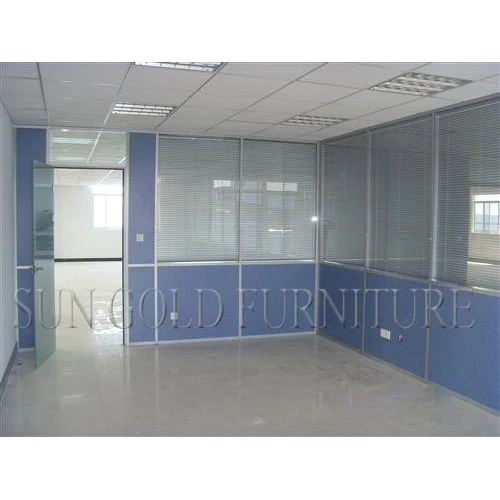 Modern Cheap Board and Glass Cubicle Walls for Office,Hotel,School(SZ-WS638)