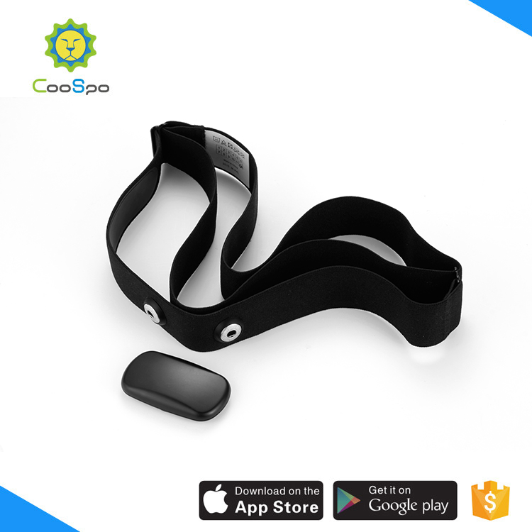 CooSpo wholesale Bluetooth4.0 & ANT+ chest strap belt heart rate monitor