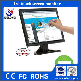 "New Product Waterproof 17"" Touch LCD Kiosk Monitor with CE & RoHs"