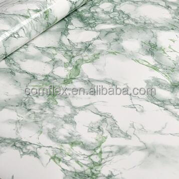 mrmol verde jade pvc papel pintado rollo de tamao m m para muebles lavabo gabinete tabla de piso puerta decoracin del hogar