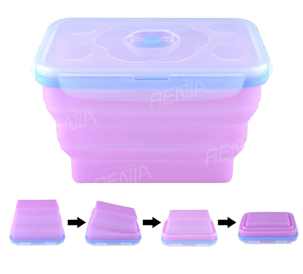 Mini Food Freezer Containers And Soft Silicone Containers