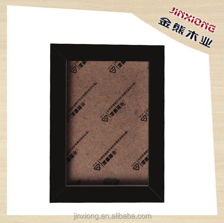 Decorative Russian wood black picture frame