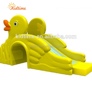 indoor yellow duck slide