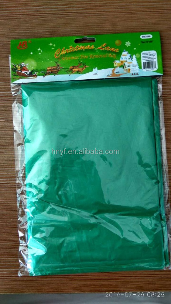 Special discount of Plastic Christmas Tree Removal Packaging Bag