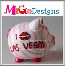 Personalized wholesale hand-painted money saving container