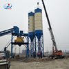 Stationary List of Concrete Batching Mixing Plant Specification and mixers Cement Silos
