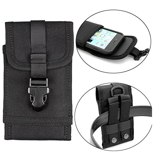 Premium Outdoor Molle Tactical Iphonee 7 Plus Case with Belt Clip