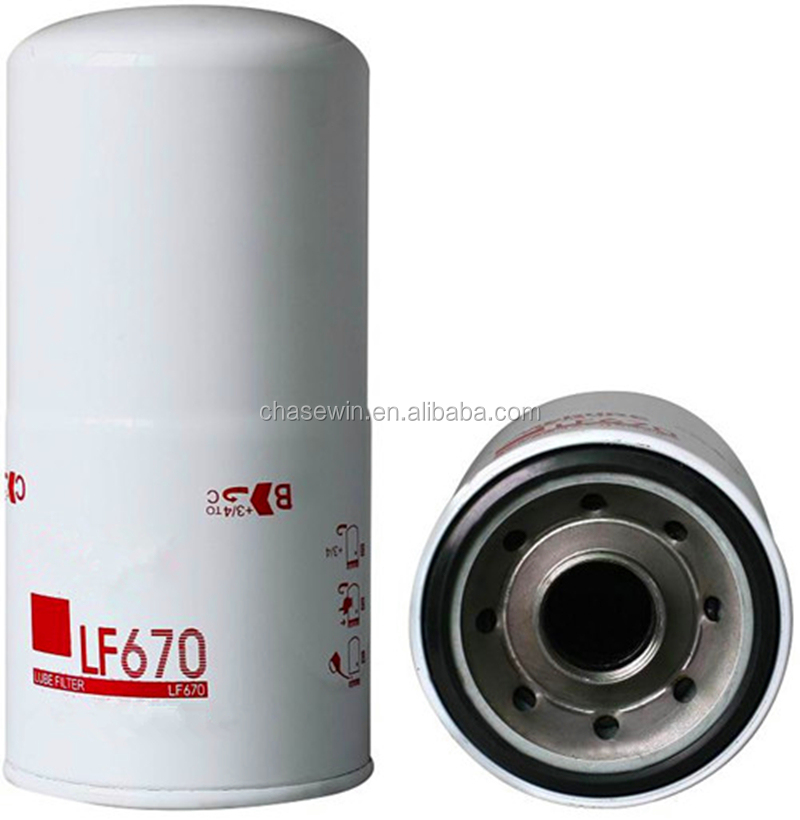 Factory Manufacturer OEM For LF670 Truck Engine Oil Filter Diesel Generator Lube Filter