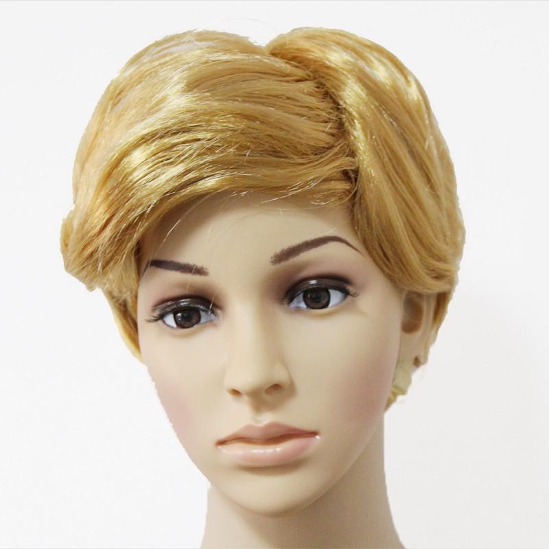 Alibaba wholesaler Donald Trump Wig Comb Over Wig Adult Halloween Costume  Fancy Dress Synthetic Fiber 427d99364