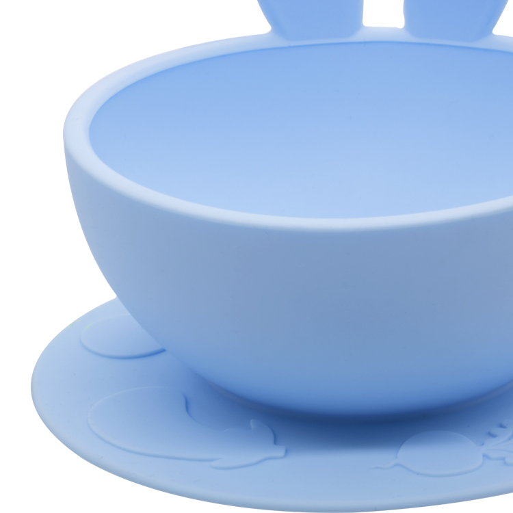 Wholesales Food Grade Collapsible Reusable Silicone Baby Bowl