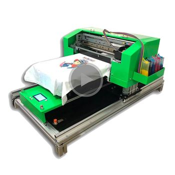 92faa5498 Factory price High resolution ! A3/A4 size 1440dpi cheap direct to garment  printer with