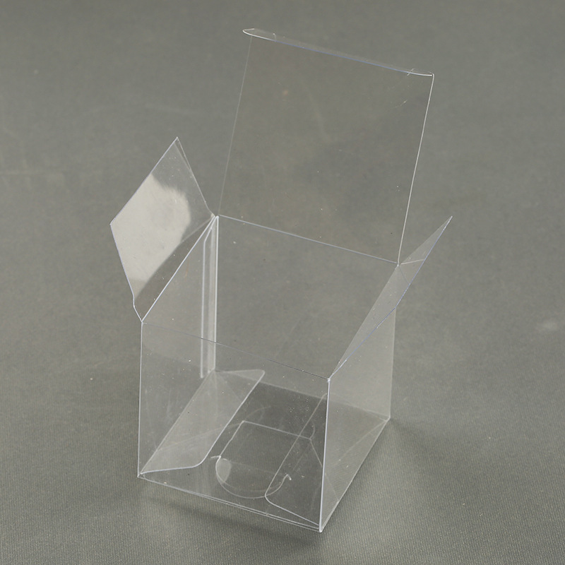 Transparent Small Plastic Box Food Grade For Cake Square Small Clear Pet Plastic Folding Boxes With Good Glue Quality Buy Small Plastic Box