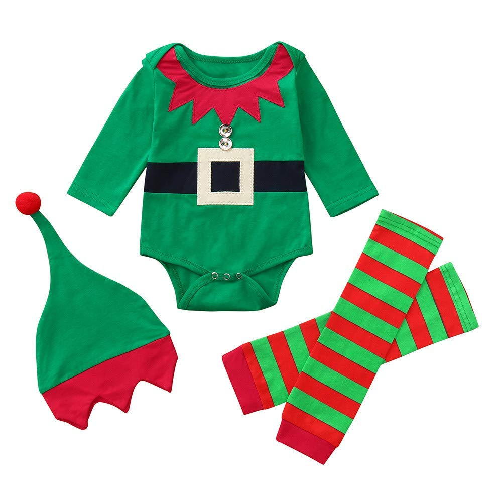 Pants Outfits for 0-24 Months TM Clearance Infant Baby Boys Girls Christmas Short Sleeve Letter Print Tops Jchen