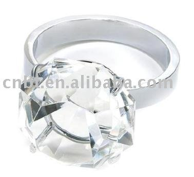 Crystal Ring Paperweight CP025