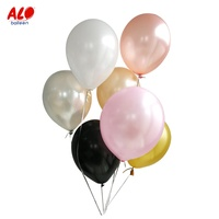 Latex Material Helium Round Standard Color Luxury Colourful Ballons Rainbow Balloon