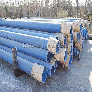 ISO Standard 500mm blue color PVC water supply pipe