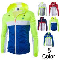 Retail Online Shopping Men's Custom Water proof Team Sportrs Jacket