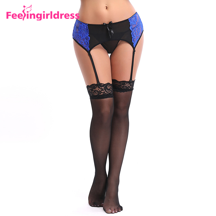 Inventive Hot Sale 1pc Sexy Women Girl Lace Floral Bowknot Bowknot Wedding Party Bridal Lingerie Cos Leg Garter Belt Suspender Wide Varieties Garters Women's Intimates