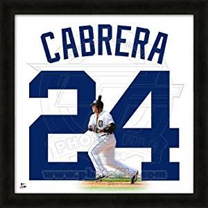 Detroit Tigers Cabrera M #24 Flathlete Figurine