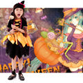 New Arrivals Holiday Witch Costume Fancy Children Halloween Children Halloween Witch Costume Girls Cosplay Role Play