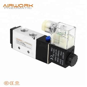 Stupendous 24Vdc Airtac Solenoid Valve 4V210 08 Manual Wiring Diagram 4V210 08 Wiring 101 Cajosaxxcnl