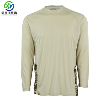 Custom fishing popular style polyester jersey SPF50 outdoor fishing t shirt