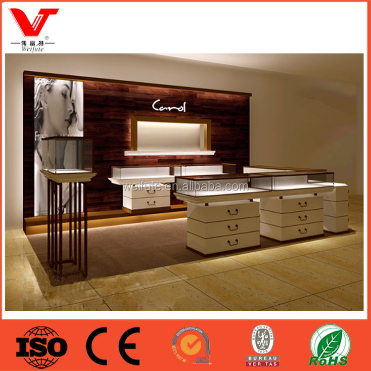 Hot Sale Custom Jewelry Showroom Displays Jewellers Store Display Showcases Furniture
