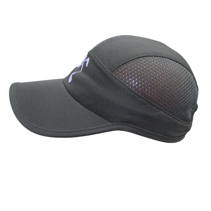 Custom Plain Black 5 Panel Trucker Running Caps - Buy Curved Brim ... 467e2e6d7e7