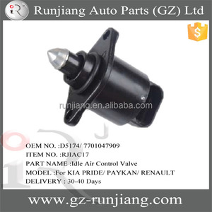 Alibaba Super September Purchasing OEM NO :D5174 7701047909 spare parts  idle air control valve for KIAs PRIDE PAYKAN